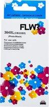 FLWR - Inktcartridge / 364XL foto zwart - Geschikt voor HP