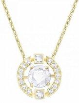 Sparkling Dance Round Necklace 5284186 - Goudkleurig