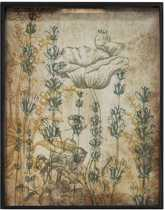 Notre Monde Dienblad Wildflowers - Multi Color