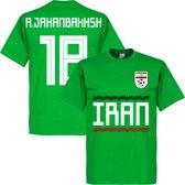 Iran A. Jahanbakhsh 18 Team T-Shirt - Groen - S