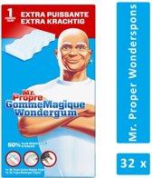 Mr. Proper Wonderspons - Extra Krachtig - 32 stuks - voordeelverpakking