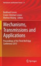 Mechanisms, Transmissions and Applications
