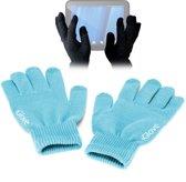 iGlove Touchscreen handschoenen (touch gloves), Licht blauw