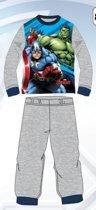 Marvel Avengers pyjama - grijs - maat 98