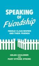Speaking of Friendship