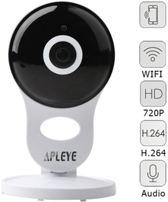 DVSE AB071-EU Cube Cloud Camera Apleye WiFi IP camera draadloze baby monitor / beveiligingscamera 720P HD Plug & Play Two way Audio