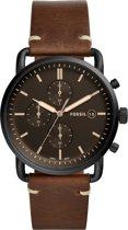 Fossil Zwart Mannen Horloge FS5403