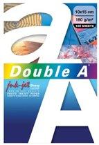 Double A - A6-formaat - 100 vellen - Fotopapier Glossy