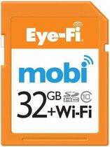 Eye-Fi Mobi 32GB WiFi SD kaart + 90 dagen gratis Eyefi Cloud