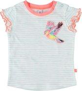 BABYFACE Meisjes T-shirt - Blauw - Maat 92