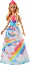 Barbie Dreamtopia Regenboog Prinses Blond - Barbiepop