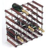 RTA Wijnrek - Donker hout - Voor 30 flessen
