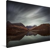 Schitterende lucht boven de Ben Nevis Canvas 80x60 cm - Foto print op Canvas schilderij (Wanddecoratie woonkamer / slaapkamer)