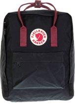 Fjallraven Kanken Rugzak 16 liter - Black / Ox Red
