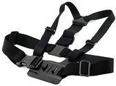 Borstband Borstharnas Borsthouder Chest Mount Harness voor GoPro Hero 1, 2, 3 en 4 en overige action camera's