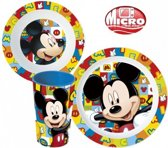 Mickey mouse servies set Magnetron bestendig