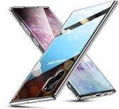 Samsung Galaxy Note 10 PRO - hoesje met Tempered Glass achterkant bescherming - ESR - Ice Shield - Transparant