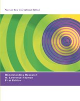 Understanding Research: Pearson  International Edition