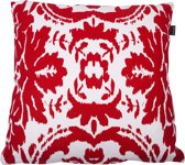 In The Mood Vintage Ikat - Sierkussen - 50x50 cm - Rood