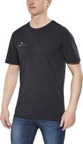 Gentic New School t-shirt Heren zwart Maat M