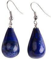 Edelstenen oorbel Lapis Lazuli Big Drop