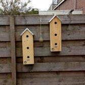 Hoge mussenflat - Vogelhuisje - 2 stuks