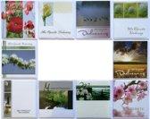 Rouwkaarten - Condoleance kaarten -  Set van 10 - L-007