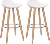 Moderne Witte Barstoelen.Bol Com Witte Barkruk Kopen Alle Witte Barkrukken Online