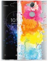 Sony Xperia XA2 Plus Hoesje Color Splatters