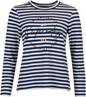 Superdry T-shirt - Vrouwen - navy/wit