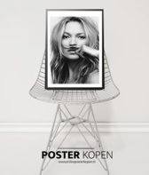 Kate Moss l Life is a joke Poster l A3 poster