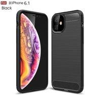 Ntech Hoesje Brushed TPU - Apple iPhone 11 - Matt Zwart