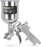 Powerplus POWAIR0105 Verfpistool - Pneumatisch - Met bovenbeker - 400 cc - Max. 5 bar