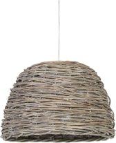 Light & Living Hanglamp  ROTAN hout bruin Ø38x27 cm  -  crazy weaving