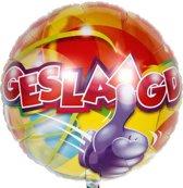 Geslaagd Helium Ballon 43cm leeg