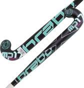 Brabo HockeystickKinderen zwart groen wit