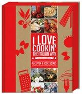 I love Italian Geschenkpakket - Boek - 22 x 29 x 5cm