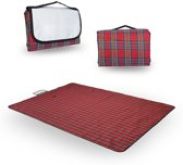 Opbouwbaar Picknickkleed Buiten - Waterdicht Plastic Picknick Deken / Kleed / Plaid Groot - 200 x 150 cm