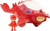 PJ Masks Pyjamahelden Owlette met Voertuig - Speelfiguur