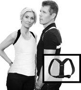 Posture Classic Corrector - Postuur en houdingtrainer -  S/M - zwart