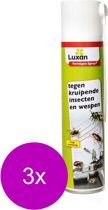 Luxan Vermigon Spray - Insectenbestrijding - 3 x 400 ml