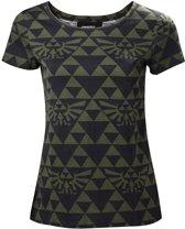 The Legend of Zelda - Green Black Hyrule Women's T-Shirt - Maat M