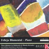 Piano Quintets (Rubinstein & Rimsky