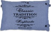 In The Mood Sierkussen TraditionStripe - 40x60 cm - Faded Blue