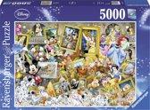 Ravensburger puzzel Disney Mickey Mouse Artistic Mickey - Legpuzzel - 5000 stukjes