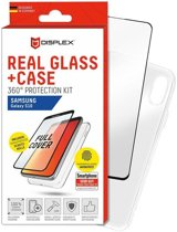 Displex 3D Real Glass + Case Samsung Galaxy S10 360° Protection Kit