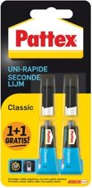 Pattex Secondelijm Classic - 2 x 3 gr