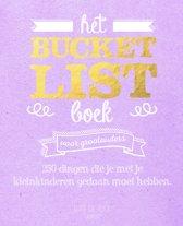 Boekomslag van 'Bucketlist - Het Bucketlist Boek voor grootouders'
