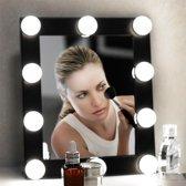 Gridbyt premium Hollywood spiegel lamp set BENDA - Make up spiegelverlichting LED 4 meter – Helder wit dimbaar licht