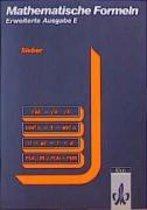 Mathematische Formeln. Formelsammlung E (Erweiterte Ausgabe)